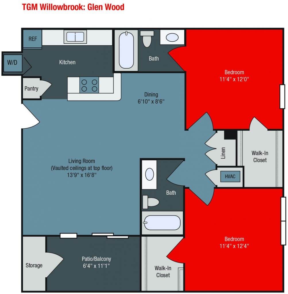 Apartments For Rent TGM Willowbrook - Glen Wood