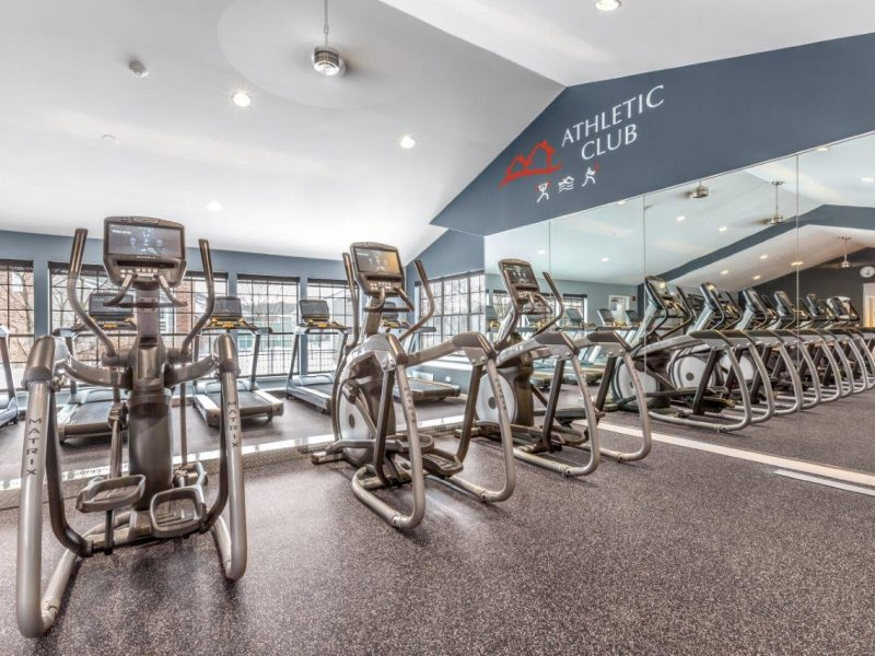 TGM Willowbrook Apartments Fitness Gym 2