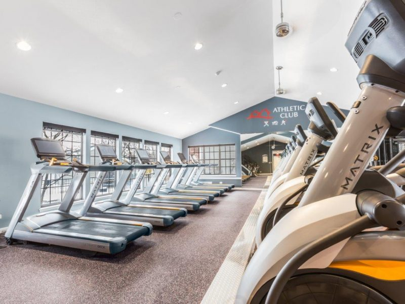 TGM Willowbrook Apartments Fitness Gym 3