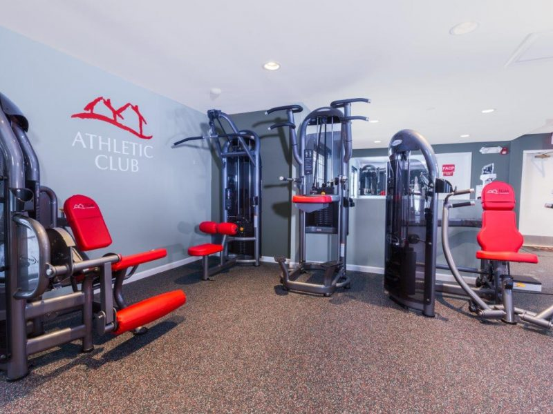 TGM Willowbrook Apartments Fitness Gym 4