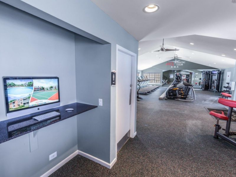 TGM Willowbrook Apartments Fitness Gym 6