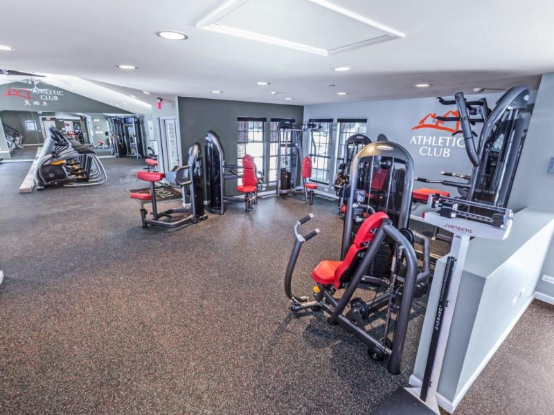 TGM Willowbrook Apartments Fitness Gym 7