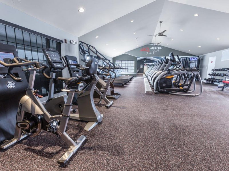 TGM Willowbrook Apartments Fitness Gym