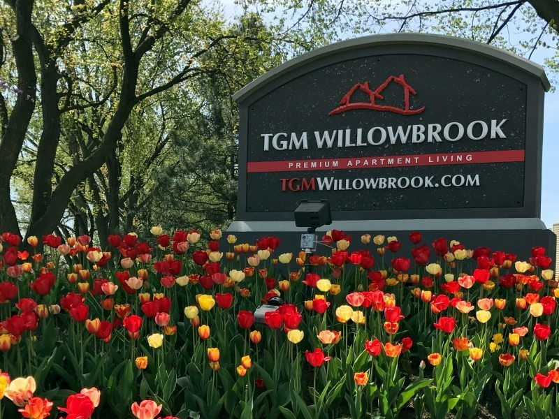 TGM Willowbrook Apartments Monument